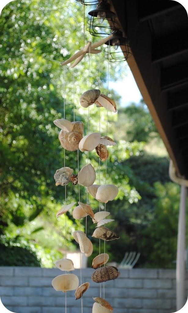 21 Seashell Wind Chime Tutorial
