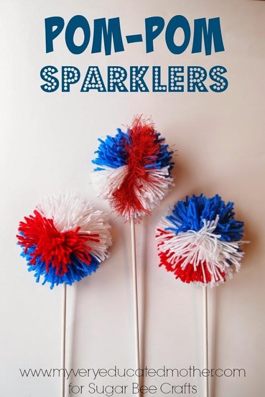 22 Pom Pom Sparklers