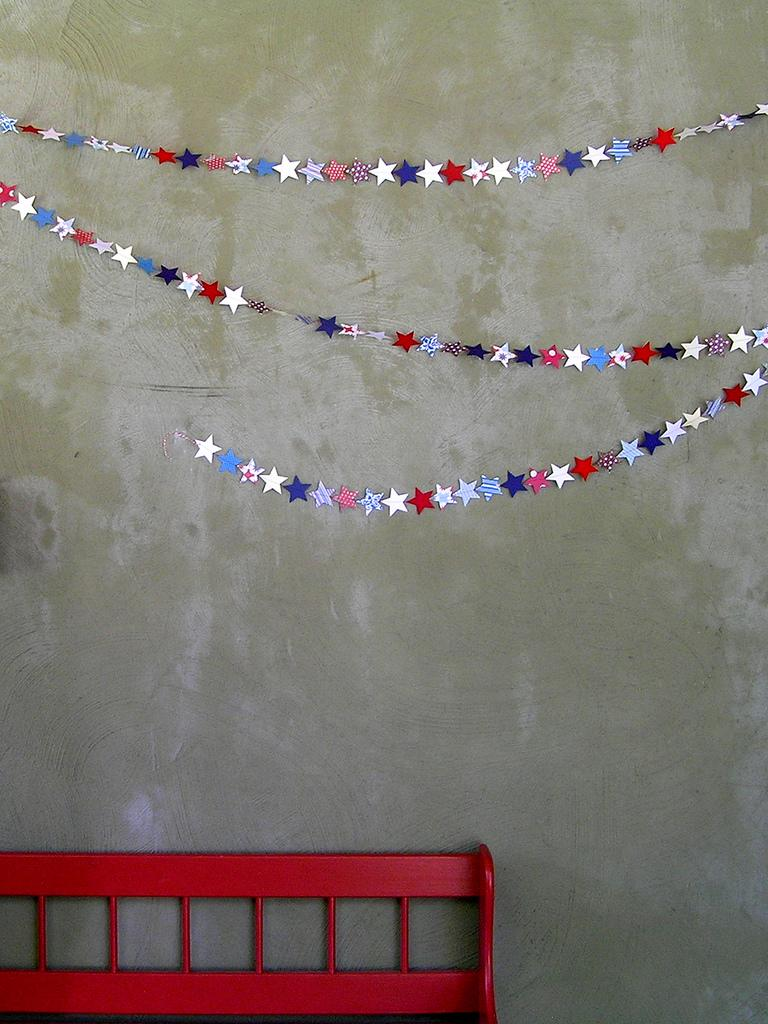 22 Sewing Machine Garland