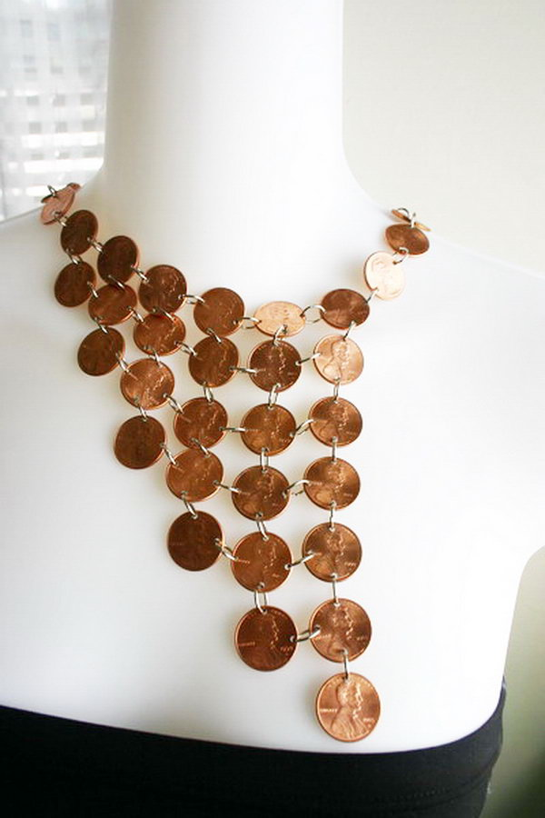 23 Amazing Penny Necklace