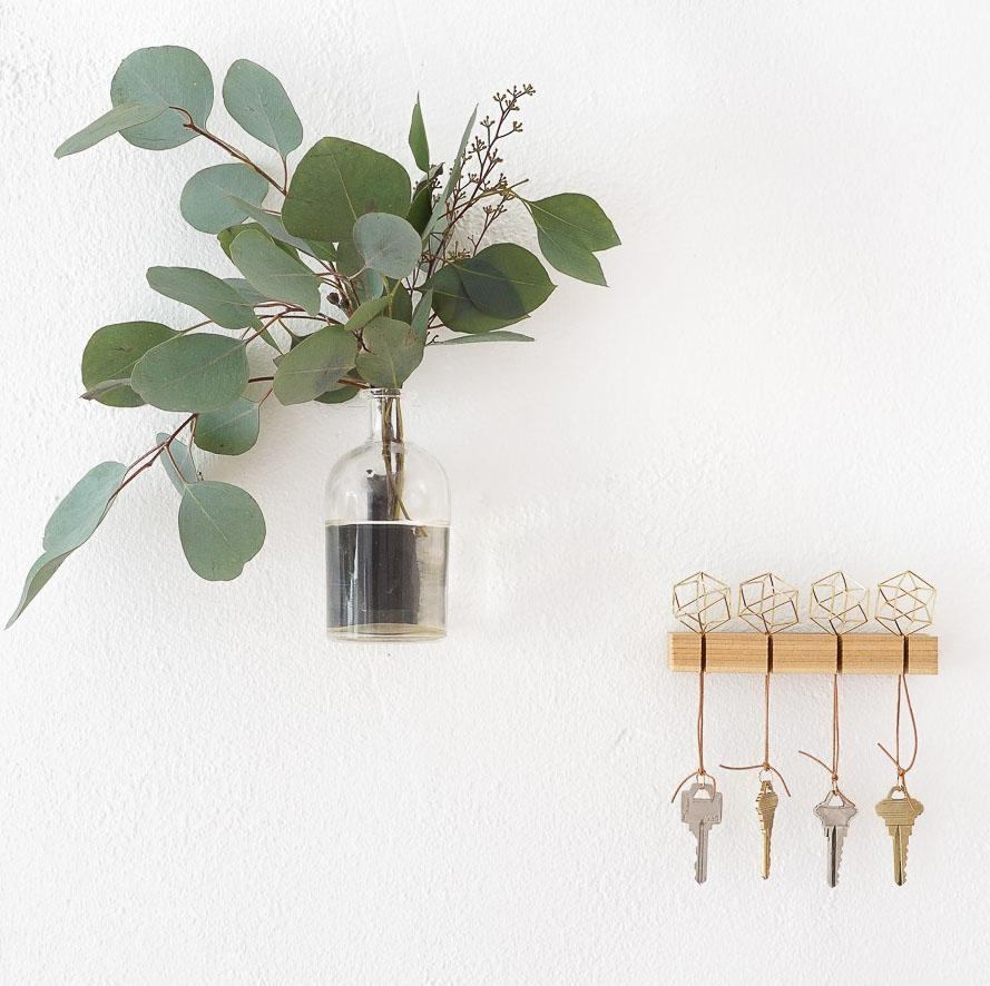 24 DIY Modern Key Holder