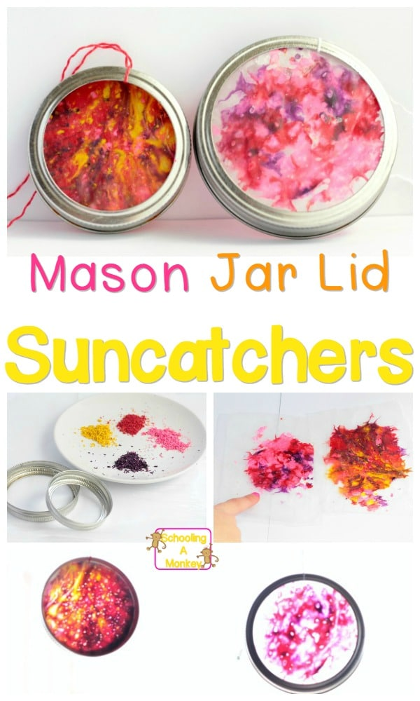 24 Super-Simple Melted Crayon Suncatchers