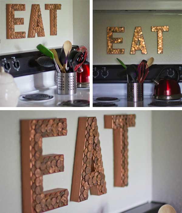 26 Loose Change Eat Sign