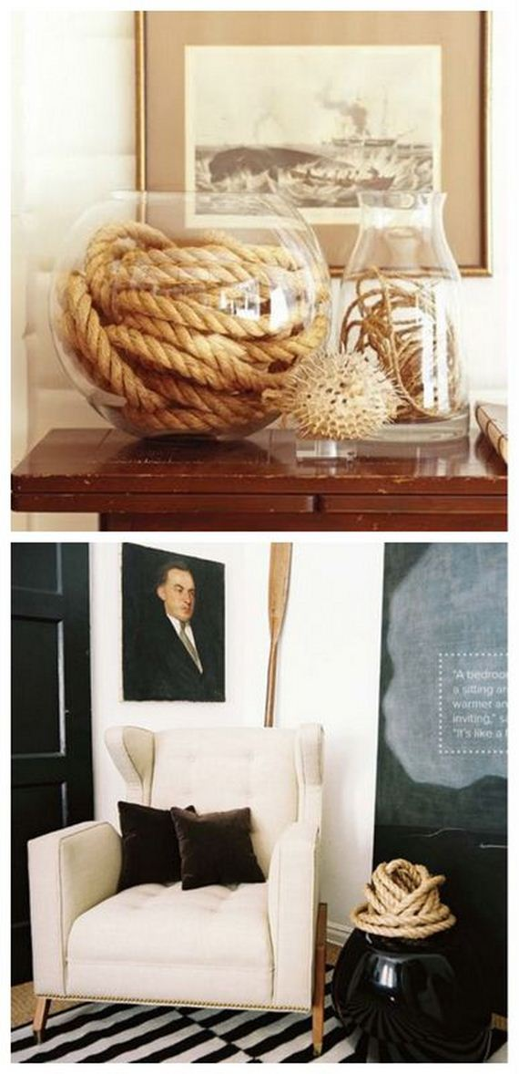 26 Modern rope accents