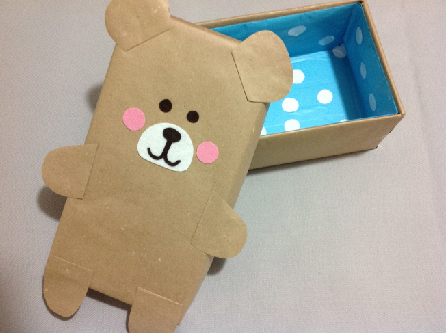 26 Paper bag Bear Box