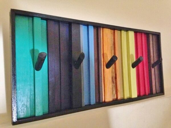 26 Reclaimed Rainbow Rack