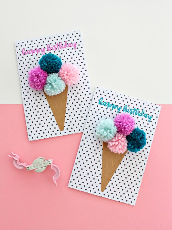 26 ice cream cards