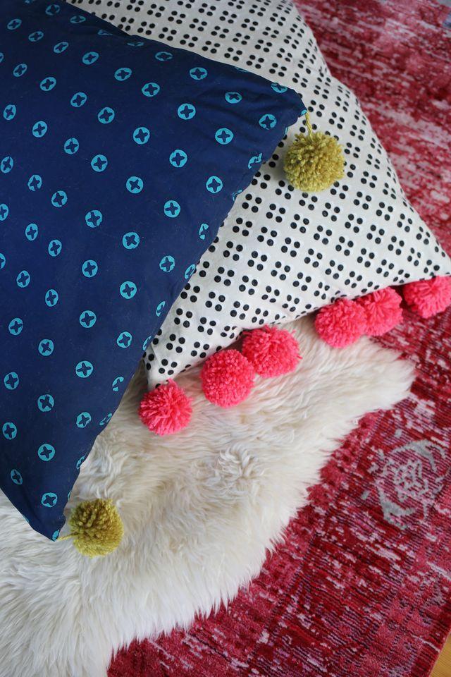 27 Pom Pom Pillows