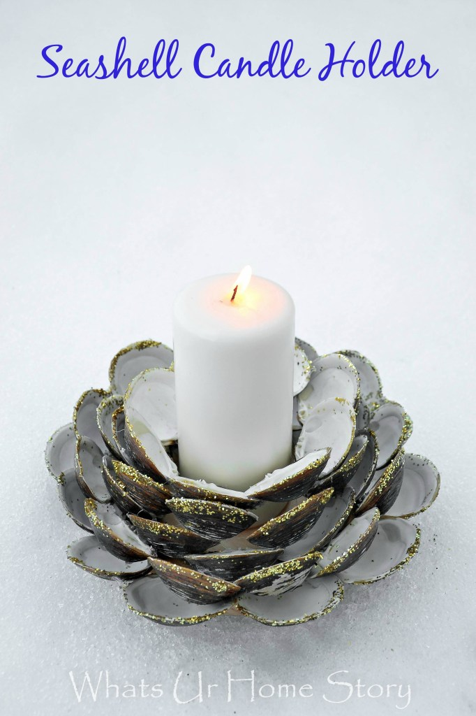 27 SEASHELL CANDLE HOLDER