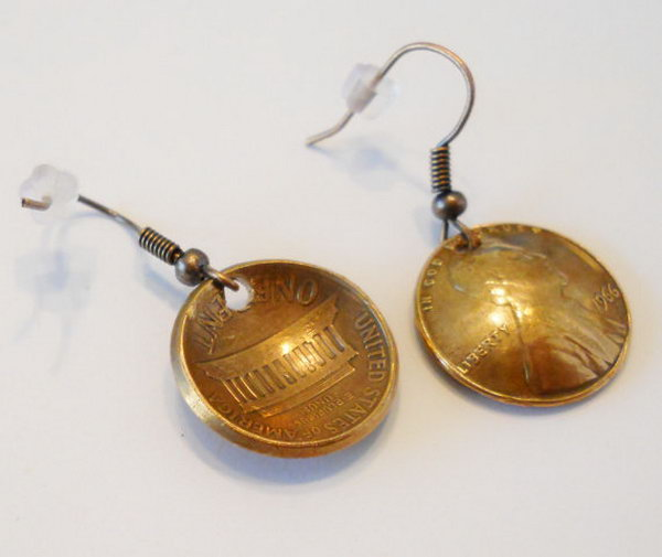 28 Lucky Penny Earrings