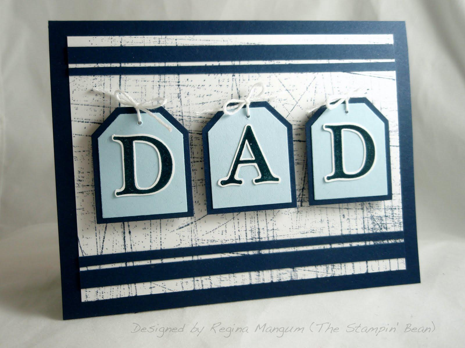 28 Rustic Father's Day Card