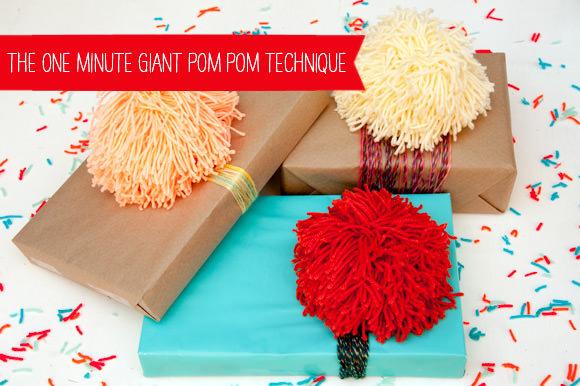 29 60-second Giant Pom Pom