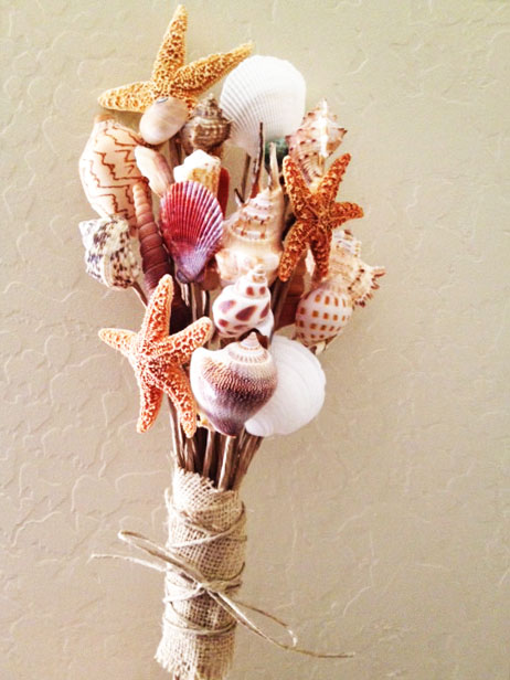 29 DIY Shell Bouquet