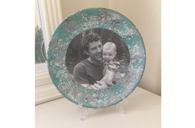 29 Father's Day Memory Craft – Photo Plate