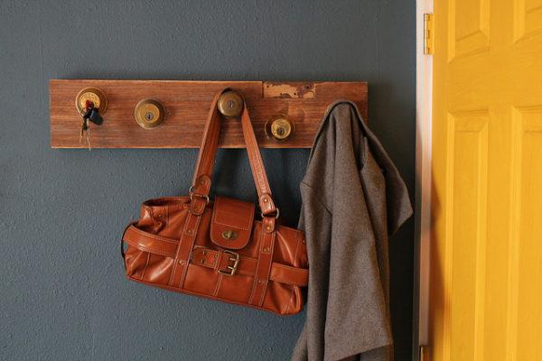 29 Lock and Key Coat Rack