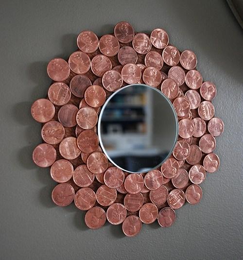 3 Penny Starburst Mirror