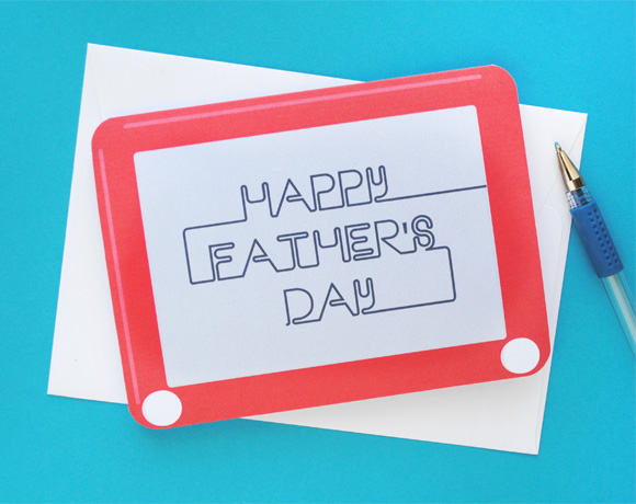 3 Printable Father's Day Card