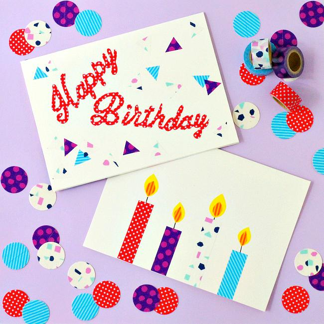 30 Creative DIY Happy Birthday Cards