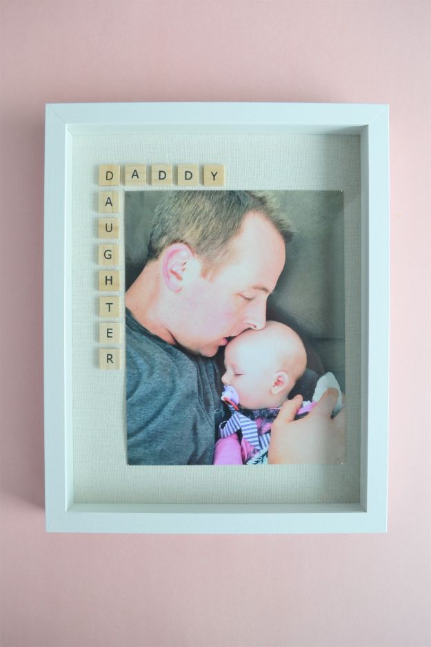 30 Father's Day Photo Frame Gift Idea