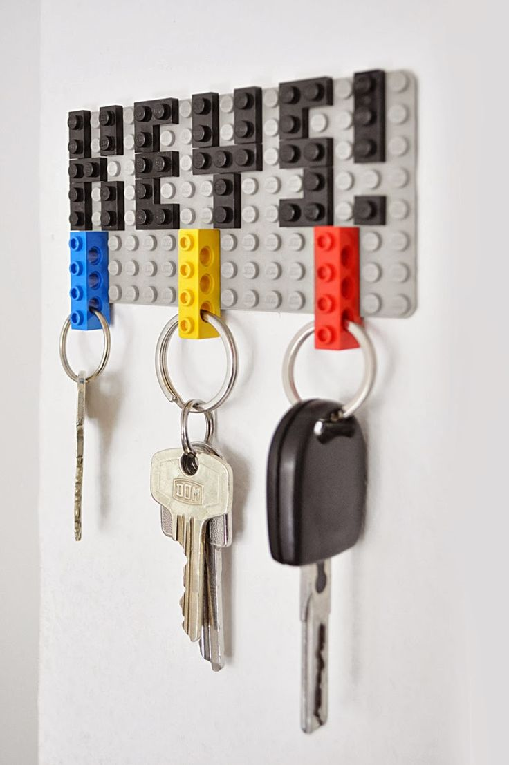 31 DIY Lego Key holder