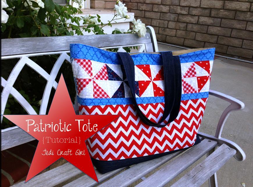 31 Patriotic Tote Bag