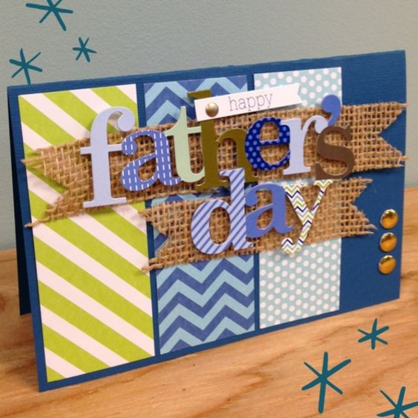 32 FATHER'S DAY CARD and PINWHEELS