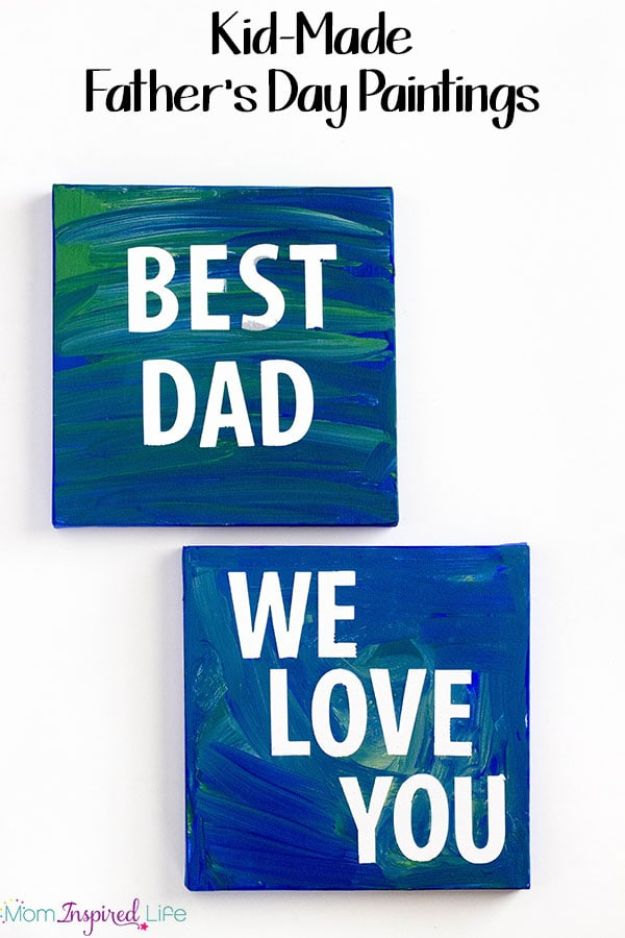 33 Father's Day Paintings from Kids