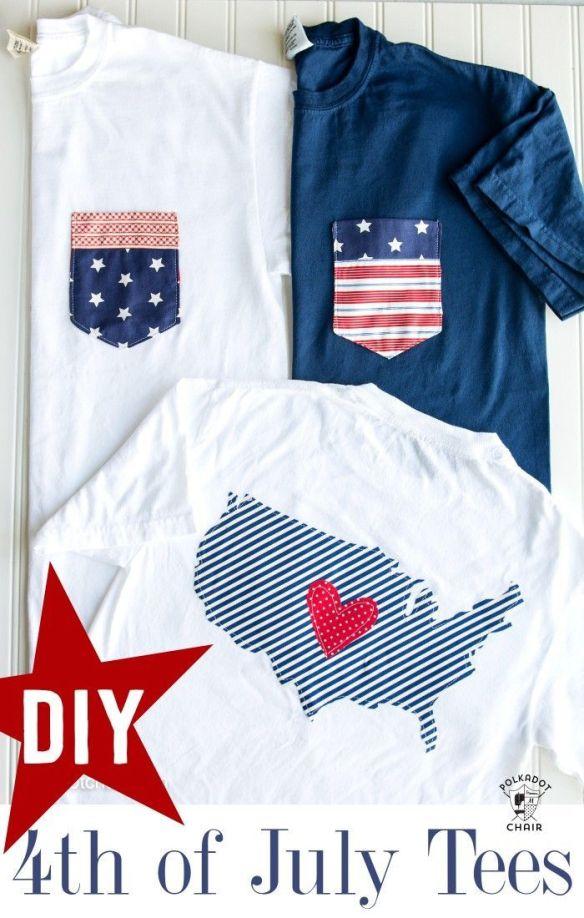 33 Flag Pocket T-shirts