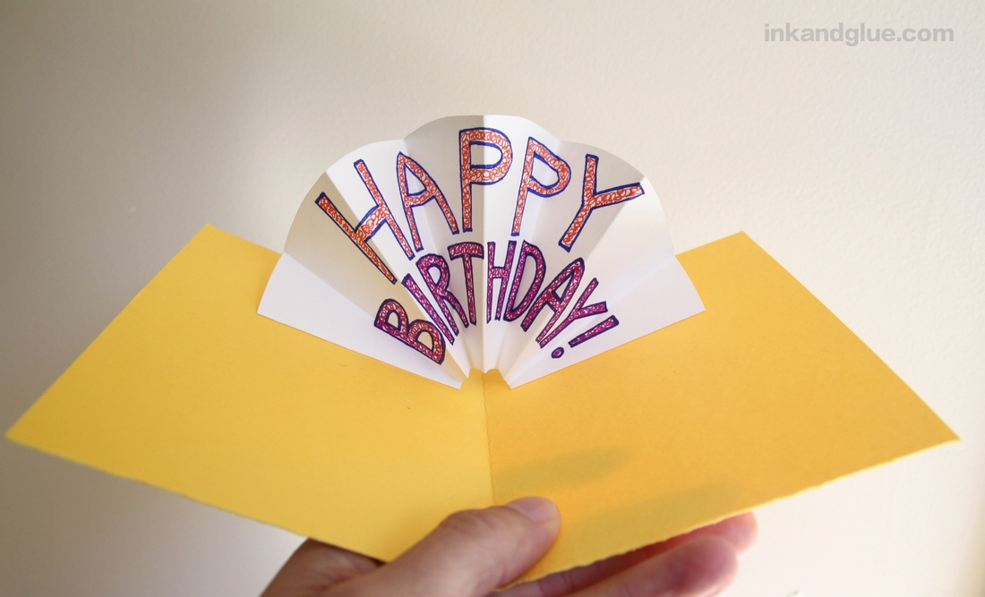 35 DIY Pop-up Birthday Card