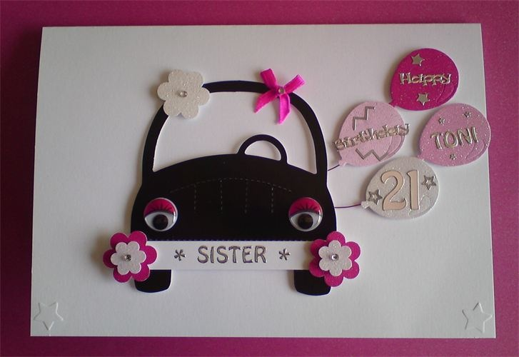 36 DIY Birthday Cards for Sister