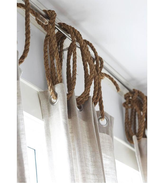 36 Rope as Curtain Ring