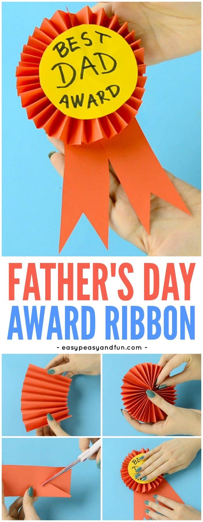 37 DIY Paper Award Ribbon