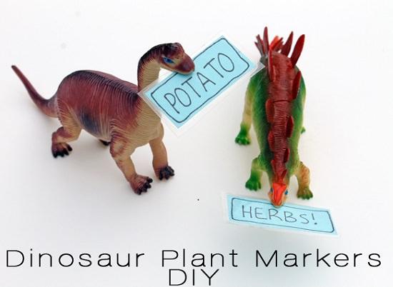 37 Dinosaur Toys Plant Marker