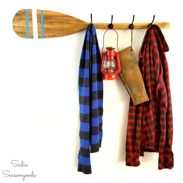 38 Canoe Paddle Rack
