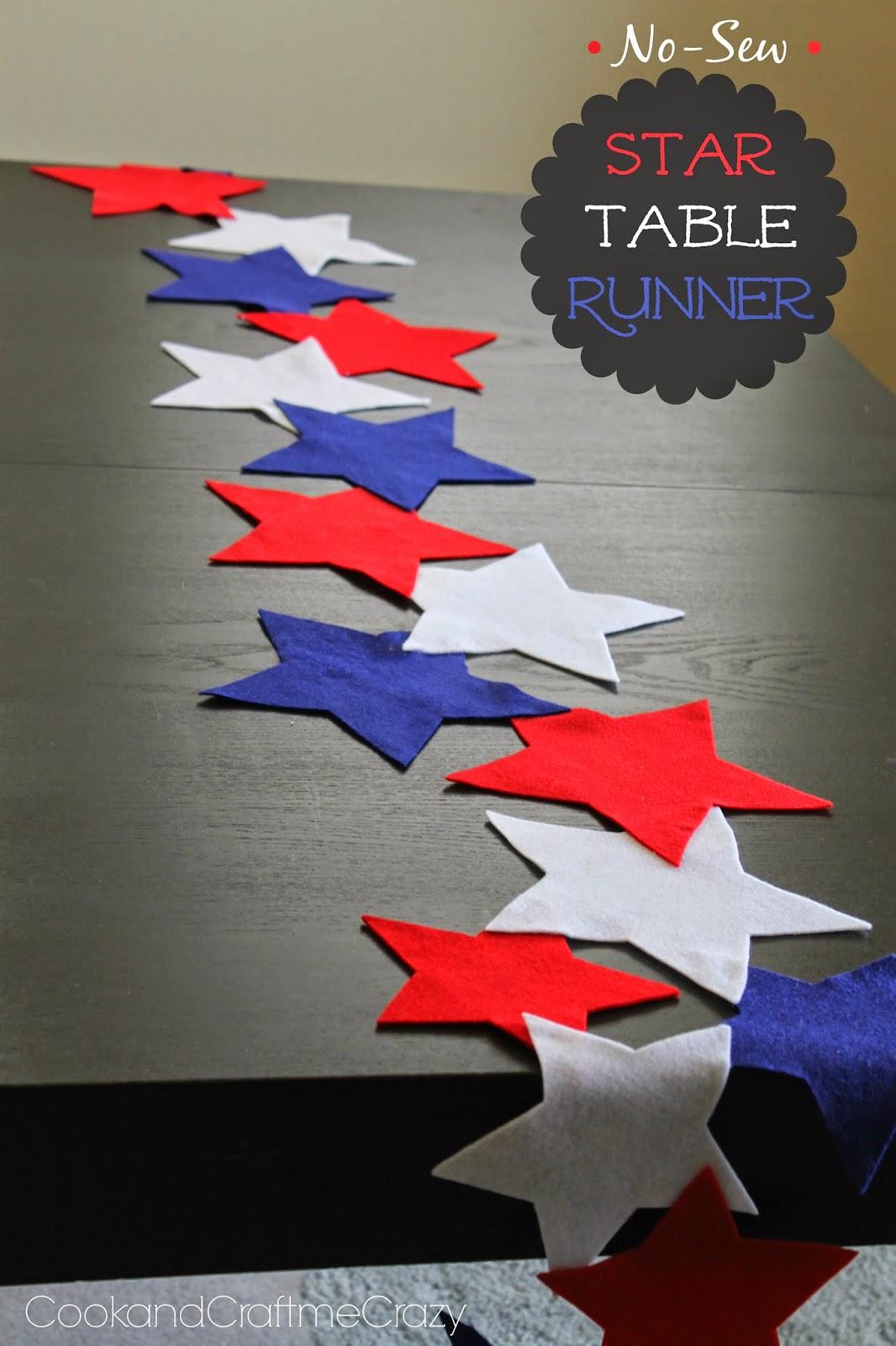 38 Star Table Runner