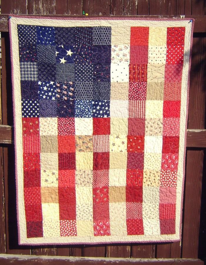 4 American Flag Quilt