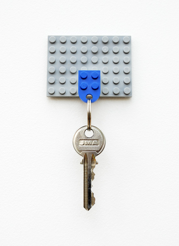 4 DIY Lego Key holder