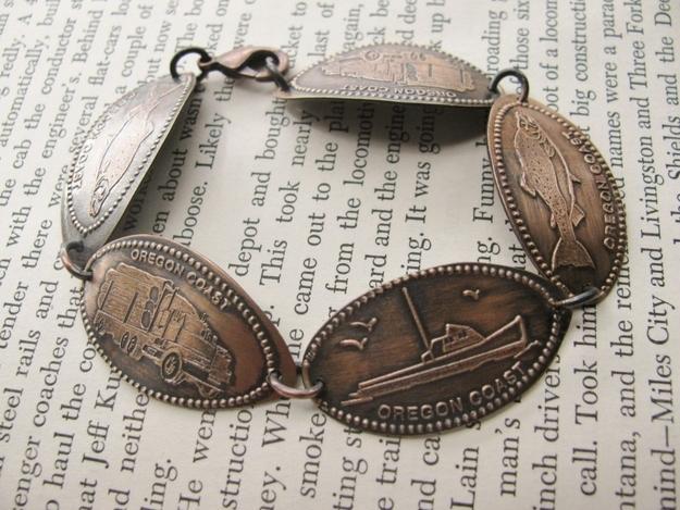 44 Souvenir Penny -Like Bracelet