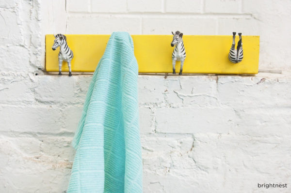 45 Zebra Coat Rack