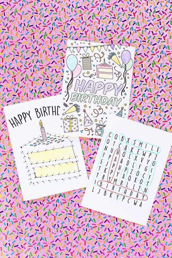 49 Birthday Card Ideas for Kids