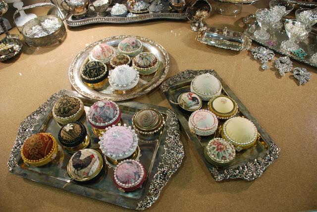 5 Canning Jar Lid Pincushion