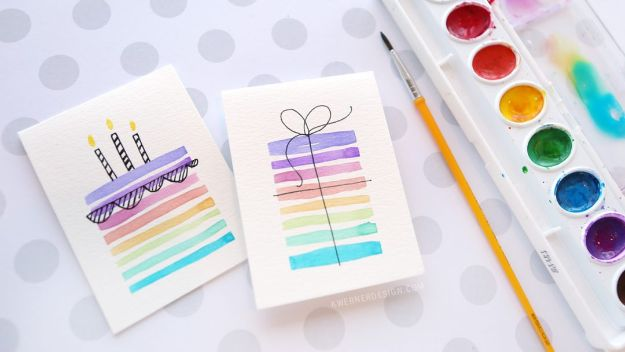 55 Easy DIY Birthday Card Using Minimal Supplies