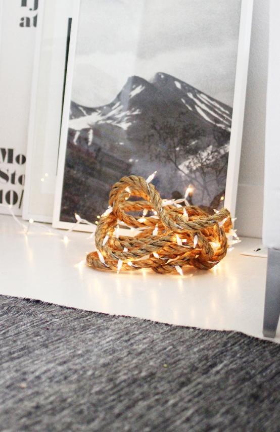 6 DIY rope light strand