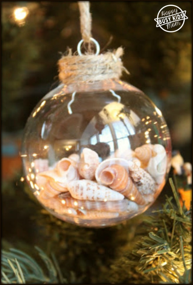7 Seashells Ornaments for Christmas