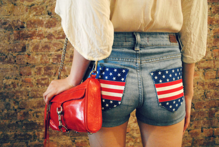 7 Stars and Stripes Shorts
