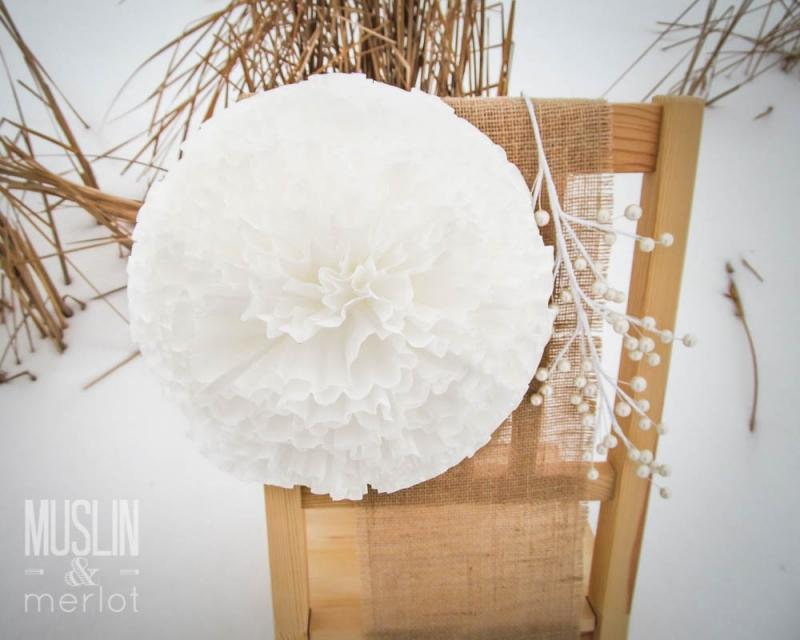 7 Use Coffee Filters to Make Lovely Poms
