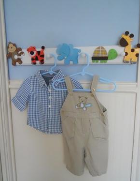 9 DIY Baby Coat Rack