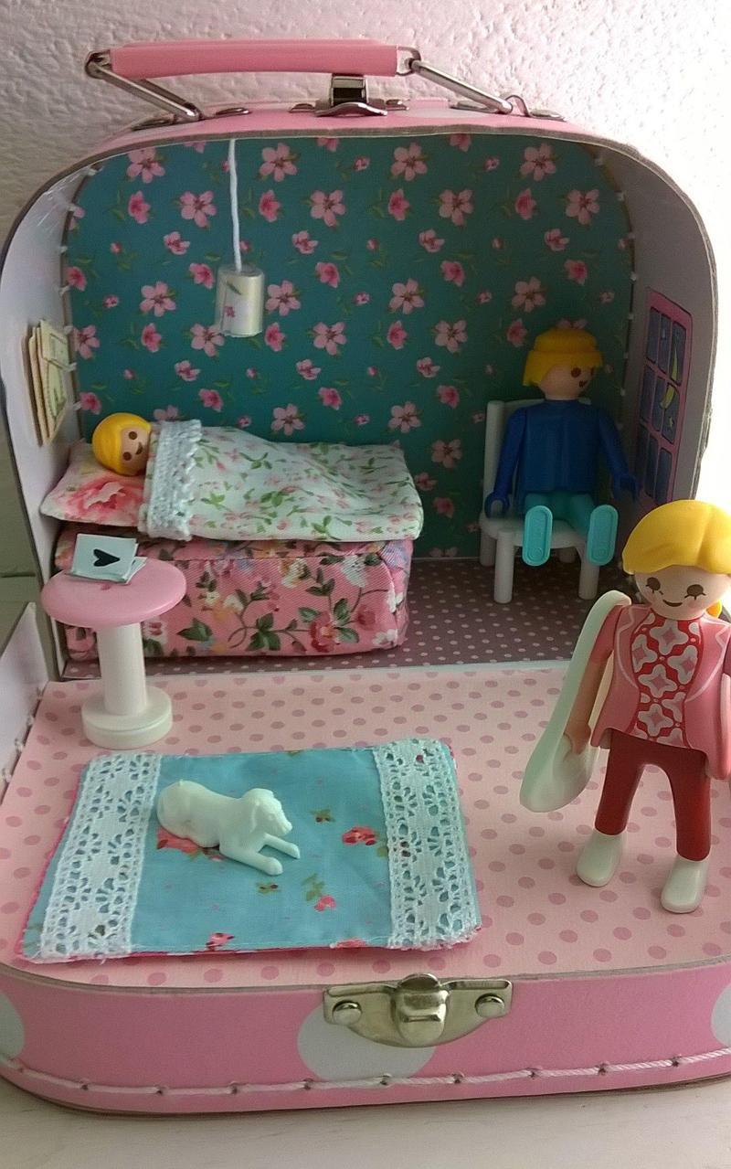 9 DIY Suitcase Barbie House
