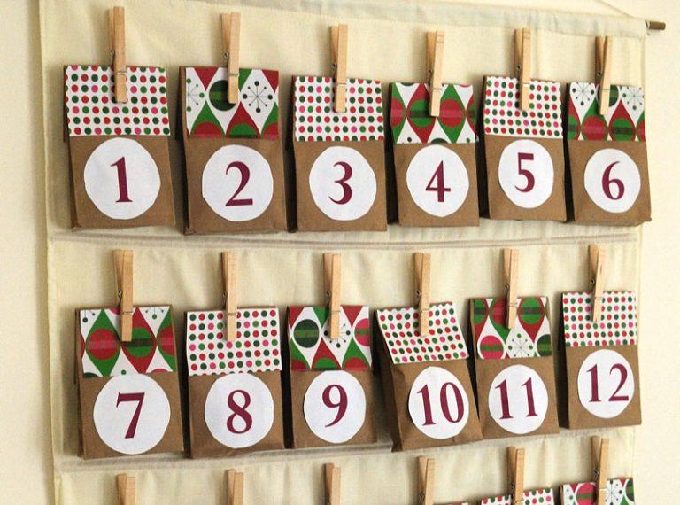 9 Easy DIY Advent Calendar