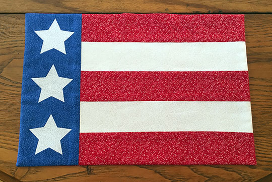 9 Stars Stripes Placemat